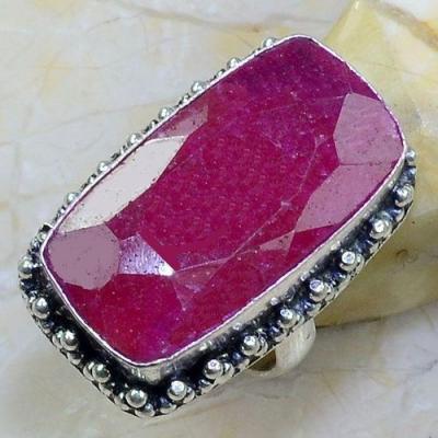 Rub 634a bague chevaliere t57 rubis medieval argent 925 achat vente bijoux 1900