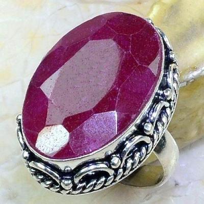 Rub 638a bague chevaliere t56 rubis medieval argent 925 achat vente bijoux 1900
