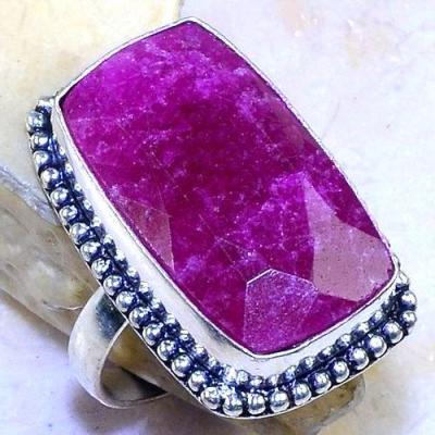 Rub 644b bague chevaliere t63 rubis medieval argent 925 achat vente bijoux 1900
