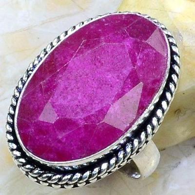 Rub 646a bague chevaliere t53 rubis medieval argent 925 achat vente bijoux 1900