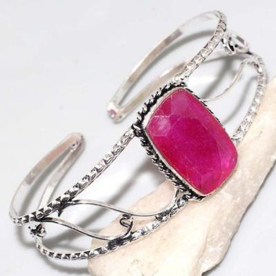 Rub 662a bracelet torque rubis 18x28mm cachemire bijou ethnique achat vente argent 925
