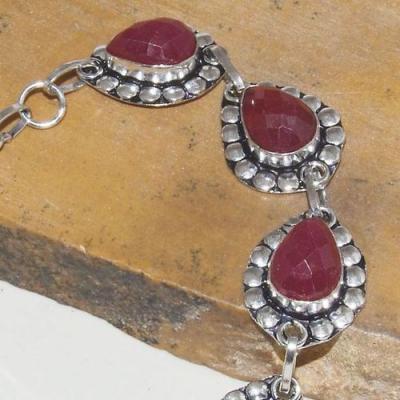 Rub 753b bracelet rubis cachemire achat vente bijou argent 925
