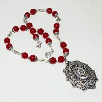 Rub 778a collier parure sautoir pendentif rubis cachemire achat vente bijou argent 925