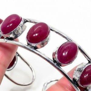 Rub 937c bracelet torque rubis 10x15mm 45gr cachemire bijou ethnique achat vente argent 925