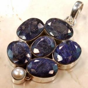 Rub186 bijou pendentif saphir achat vente