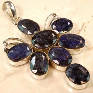 Rub189 bijou pendentif saphir achat vente