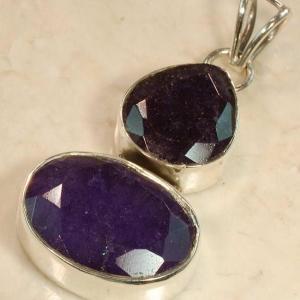 Rub191b bijou pendentif saphir achat vente