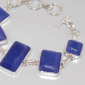 Sa 0312b bracelet saphir cachemir argent 925 achat vente