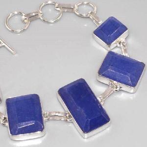 Sa 0312c bracelet saphir cachemir argent 925 achat vente