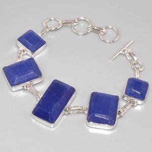 Sa 0312d bracelet saphir cachemir argent 925 achat vente