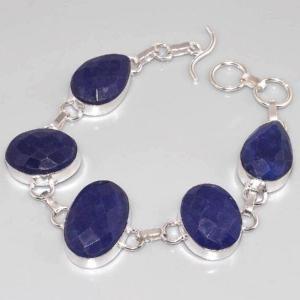 Sa 0313d bracelet saphir cachemir argent 925 achat vente