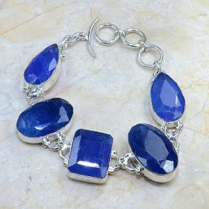 Sa 0318d bracelet saphir cachemir argent 925 achat vente