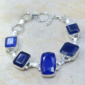 Sa 0334a bracelet saphir cachemir bijoux argent 925 achat vente