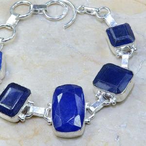Sa 0334c bracelet saphir cachemir bijoux argent 925 achat vente