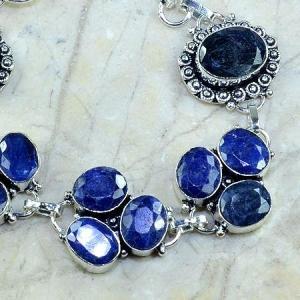 Sa 0341c bracelet saphir cachemir bijoux argent 925 achat vente