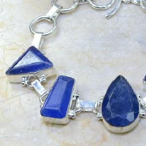 Sa 0343b bracelet saphir cachemir bijoux argent 925 achat vente