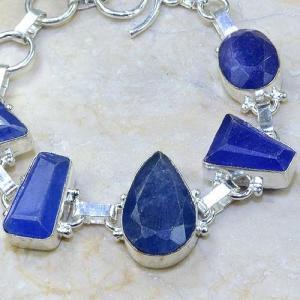 Sa 0343c bracelet saphir cachemir bijoux argent 925 achat vente