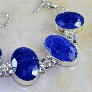 Sa 0347b bracelet saphir cachemir bijoux argent 925 achat vente