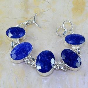 Sa 0347d bracelet saphir cachemir bijoux argent 925 achat vente