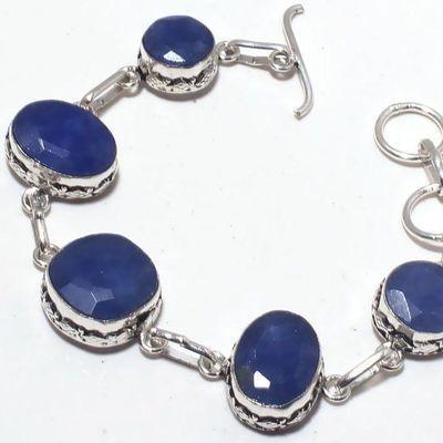 Sa 0437c bracelet saphir 10x15mm 21gr achat vente bijou ethnique argent 925