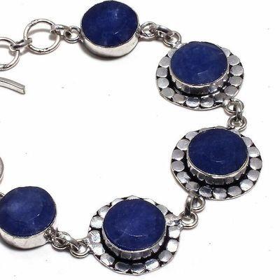 Sa 0445b bracelet saphir 15x10mm 20gr achat vente bijou ethnique argent 925
