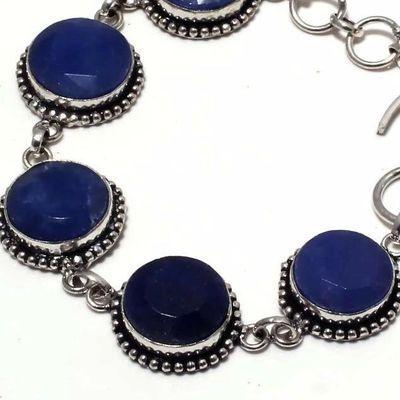 Sa 0461c bracelet saphir bleu cachemire 25gr 15mm achat vente bijou ethnique argent 925