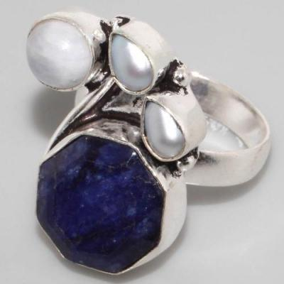 Sa 301b bague saphir perle