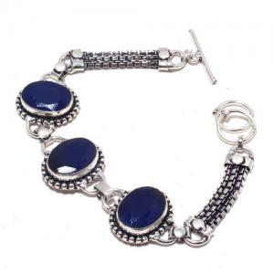 Sa 9391a bracelet 3 saphir bleu 23gr achat vente bijou ethnique argent 925