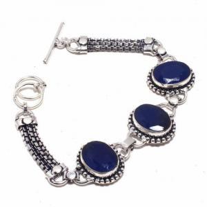 Sa 9391d bracelet 3 saphir bleu 23gr achat vente bijou ethnique argent 925