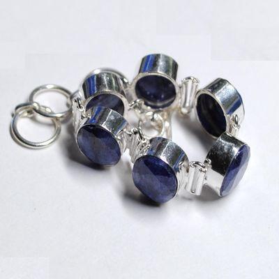 Sa 9426a bracelet saphir argent 925 achat vente bijou 23gr 10x15mm