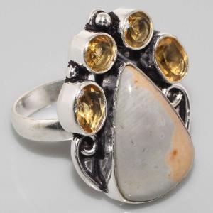 Sl 015a bague jaspe argent 925 bijoux achat vente jpg