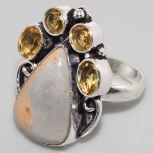 Sl 015b bague jaspe argent 925 bijoux achat vente jpg