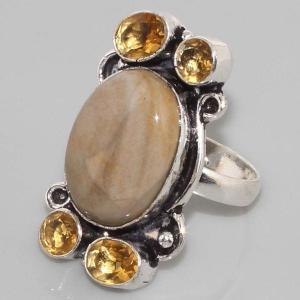 Sl 017b bague jaspe argent 925 bijoux achat vente jpg