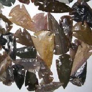 Slx 016b pointe de fleche silex prehistorique harpon sagaie achat vente 2