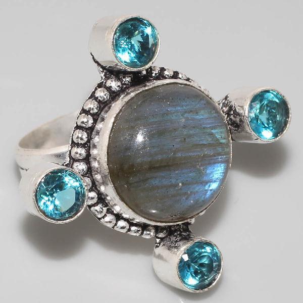 Tbt 421a bague labradorite topaze t57 achat vente bijoux argent 925 jpg