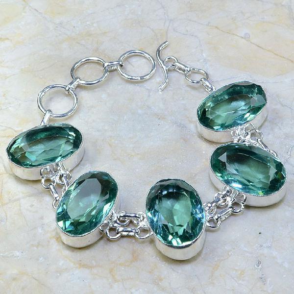 Tpz 008a bracelet topaze bleue bijou argent 925 vente achat
