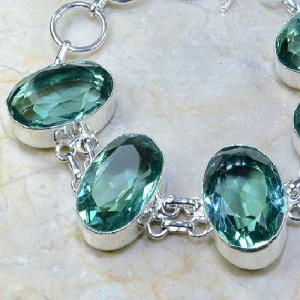 Tpz 008b bracelet topaze bleue bijou argent 925 vente achat