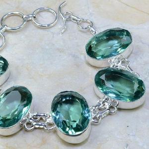Tpz 008c bracelet topaze bleue bijou argent 925 vente achat