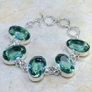 Tpz 008d bracelet topaze bleue bijou argent 925 vente achat