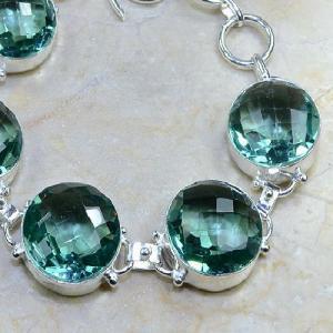 Tpz 009b bracelet topaze bleue bijou argent 925 vente achat