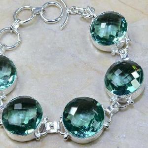 Tpz 009c bracelet topaze bleue bijou argent 925 vente achat
