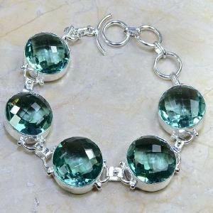 Tpz 009d bracelet topaze bleue bijou argent 925 vente achat