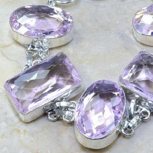 Tpz 025b bracelet topaze rose mauve bijou argent 925 vente achat