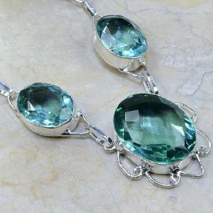 Tpz 041c collier parure sautoir topaze bleue bijou argent 925 vente achat