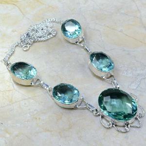 Tpz 041d collier parure sautoir topaze bleue bijou argent 925 vente achat