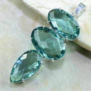 Tpz 060b pendentif pierre topaze bleue gemme taille bijou argent 925 vente achat