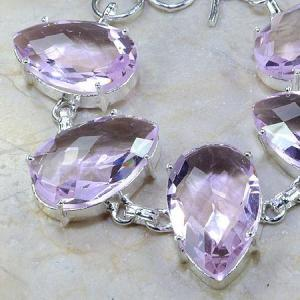 Tpz 064b bracelet topaze rose bijou argent 925 vente achat