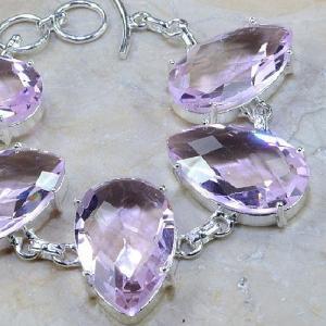 Tpz 064c bracelet topaze rose bijou argent 925 vente achat