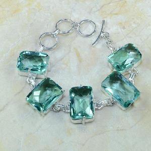 Tpz 068a bracelet topazes bleues bijou argent 925 vente achat