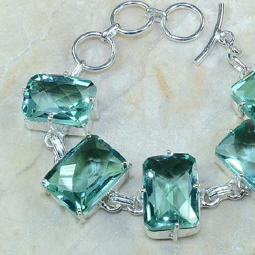 Tpz 068b bracelet topazes bleues bijou argent 925 vente achat
